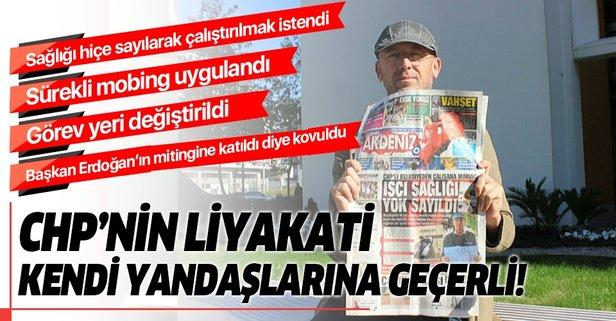 Cumhurbaşkanı Erdoğan'ın mitinglerine katıldım diye kovuldum