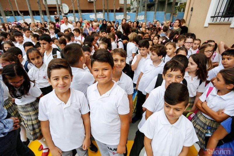 İstanbulda 3 milyon 200 bin öğrenci için ders zili çalacak