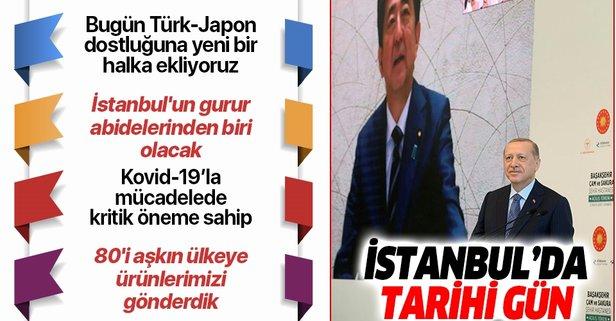 İstanbul'da tarihi açılış