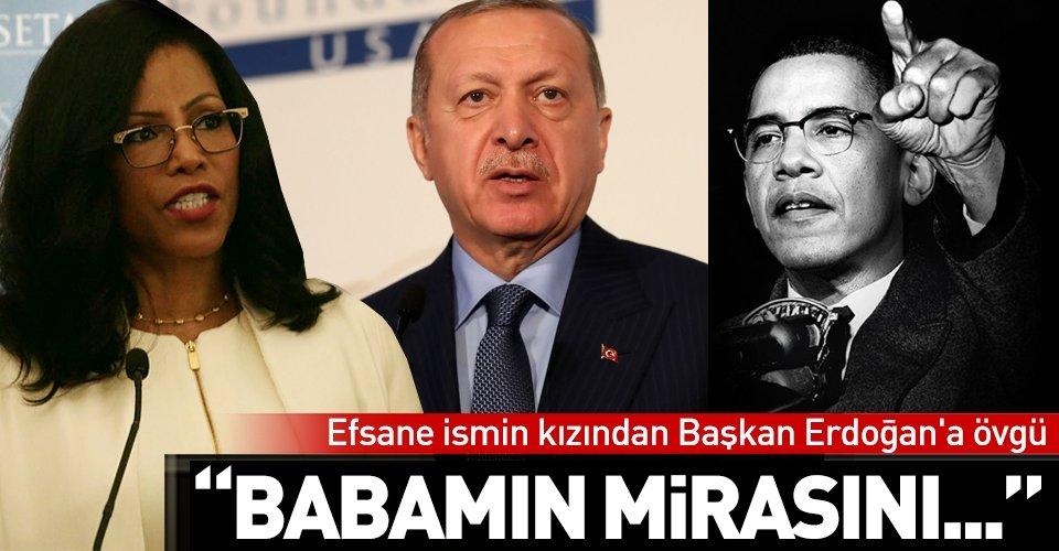Efsane ismin kızı Erdoğanı babasına benzetti