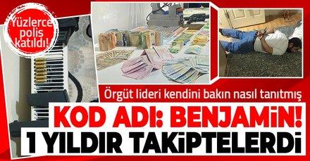 Ankara merkezli 20 ilde sahte para operasyonu! Kod adı: Benjamin! Örgüt lideri kendisini bakın nasıl tanıtmış