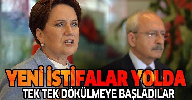 CHP ve İP'te çözülme sürüyor! Yeni istifalar yolda