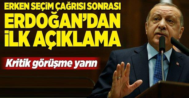 Erdoğan parti kurmaylarını topladı