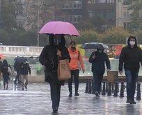 İstanbul güne yağmurla başladı | 6 Kasım Cuma hava durumu