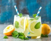 Naneli limon şerbeti nasıl yapılır?