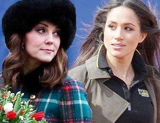 Meghan Markle ve Kate Middleton'dan elti kavgası