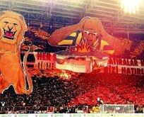 Galatasaraydan 3 boyutlu koreografi şöleni