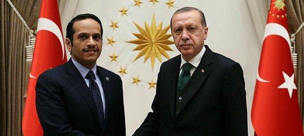 Cumhurbaşkanı Erdoğan, El Sani'yi kabul etti