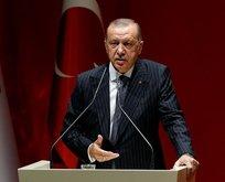 Cumhurbaşkanı Erdoğandan CHPye terör tepkisi