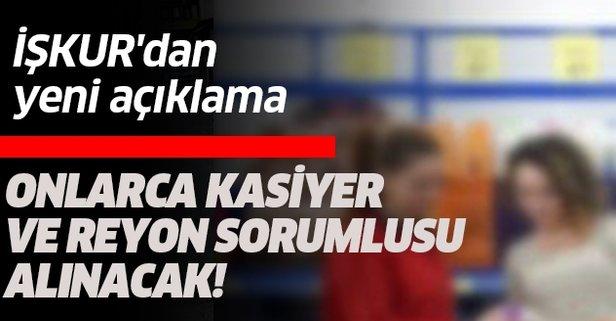 İŞKUR'dan yeni açıklama BİM işçi alım ilanları...