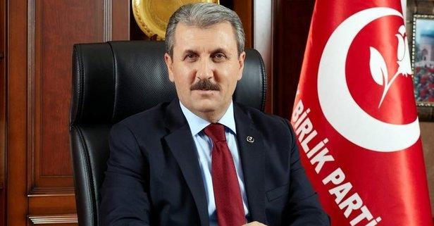 BBP, İstanbul'da kimi destekleyeceğini duyurdu…