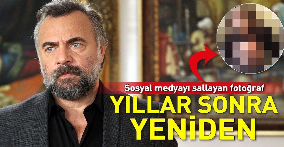 Eşkıya'nın Hızır'ı Oktay Kaynarca ile Seray Sever'in olay yaratan fotoğrafı
