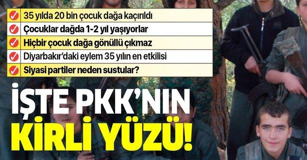 Aytekin Yılmaz PKK'nın kirli yüzünü anlattı: 35 yılda 20 bin çocuk dağa çıkarıldı