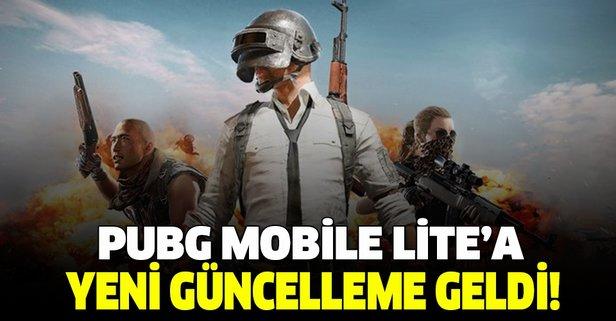 PUBG Mobile Lite'a yeni özellikler geldi!