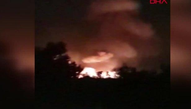 KKTC'de mühimmat deposunda art arda patlamalar meydana geldi (Video)
