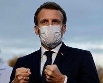 İslam düşmanı Macron'dan Arapça paylaşım
