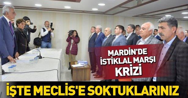 Mardin'de İstiklal Marşı krizi