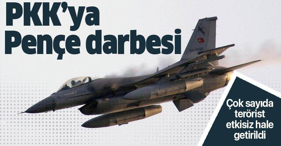 Son dakika: Pençe-3 Harekâtı'nda  9 PKK'lı terörist etkisiz hale getirildi