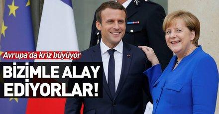 İtalya'dan Almanya ve Fransa'ya tepki: Bizimle alay ediyorlar!