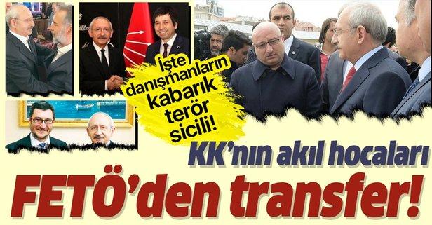 İşte Kılıçdaroğlu'nun FETÖ'cü danışmanları