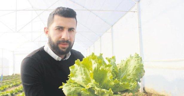 Genç Çiftçi Projesi iş sahibi yaptı