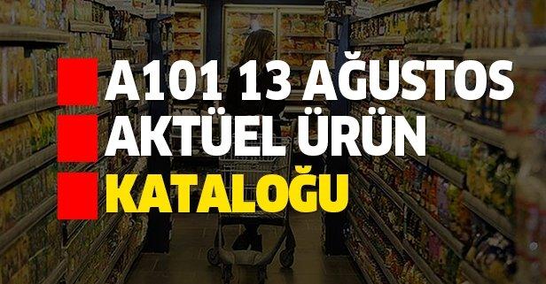 A101 13 Ağustos aktüel kataloğu indirimleri açıklandı!