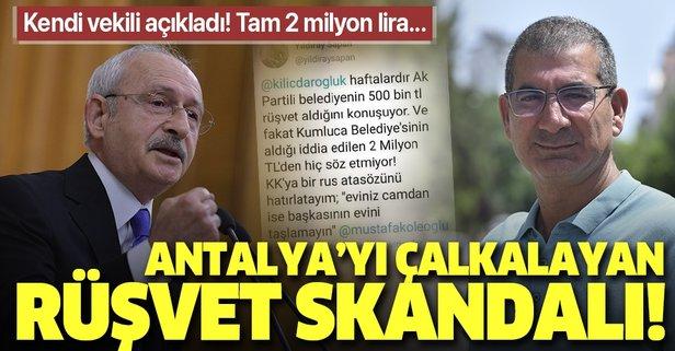 CHP'li vekilden CHP'li belediyeye rüşvet suçlaması!