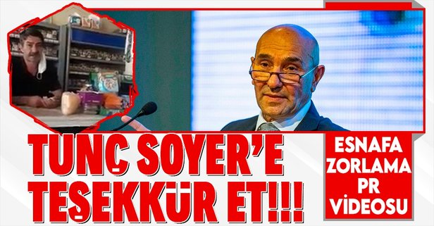 İzmir Büyükşehir Belediyesi esnafa zorla...