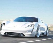 Porsche çuvalladı!