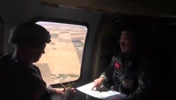 Fırat'ın doğusuna 4. hava devriyesi! Helikopterler peş peşe havalandı