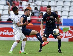 Antalyaspor-Gençlerbirliği maçında yok yok! Goller, rekor, istifa, kırmızı kart...