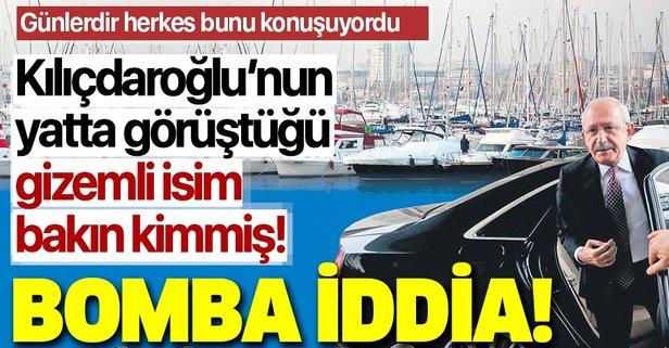 Kılıçdaroğlu özel yatta Abdullah Gül ile buluştu!