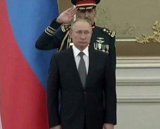 Putin'in şaşkına döndüğü anlar kamerada!