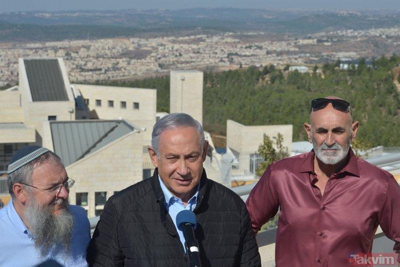 ABD'nin skandal kararının ardından Netanyahu'dan Yahudi yerleşim birimine ziyaret