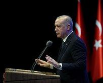 Başkan Erdoğan çok sert çıktı: Zihinleri çölleşmiş