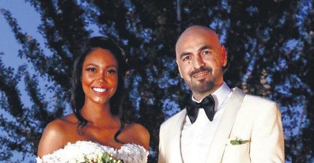 Soner Sarıkabadayı, 8,5 aylık hamile sevgilisi Madelein Lopez Camelo ile  evlendi - Takvim