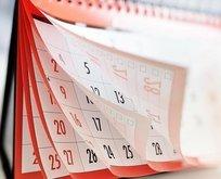 2021 resmi tatil takvimi belli oldu! 2021 Ramazan ve Kurban Bayramı ne zaman ve kaç gün tatil olacak?