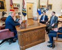 Beyaz Saray'da tarihi görüşme!