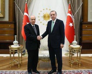 Erdoğandan Bahçeliye tebrik telgrafı