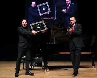 Başkan Erdoğan'dan Fazıl Say'a anlamlı hediye