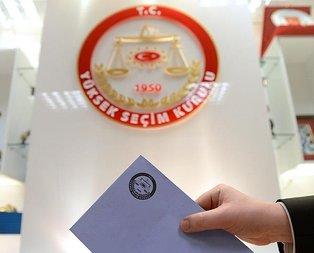31 Mart yerel seçimlerinde kaç kişi oy kullanacak?