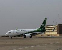 Bağdat'tan kalkan uçak acil iniş yaptı