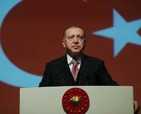 Başkan Erdoğan'dan şehit ailesine başsağlığı