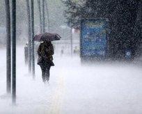 Meteoroloji'den sağanak yağış ve kar uyarısı