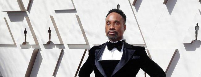 91. Oscar Ödül Töreni'ninde şıklık yarışı! Geceye smokin elbisesiyle Billy Porter damga vurdu!
