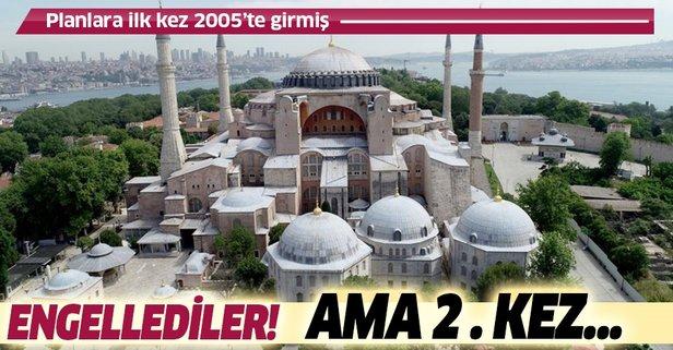 'Cami' planlara 2005'te girmiş