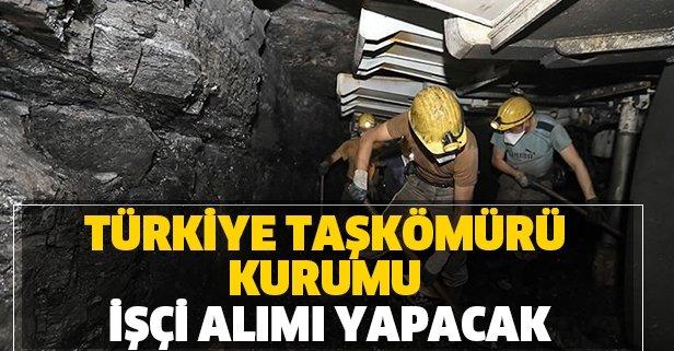 Türkiye Taşkömürü Kurumu işçi alımı yapacak!