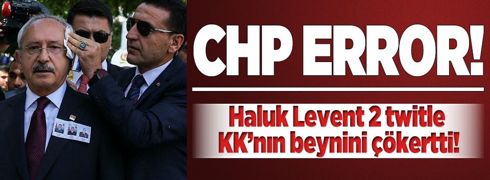 Haluk Levent 2 twitle KK'nın beynini çökertti!