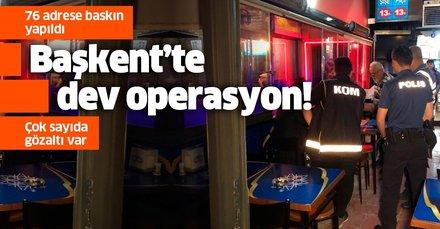 Son dakika haberi: Ankara'da kaçak içki operasyonu: 19 kişi gözaltında