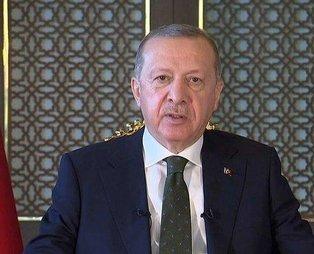 Son dakika: Başkan Recep Tayyip Erdoğan'dan Srebrenitsa mesajı